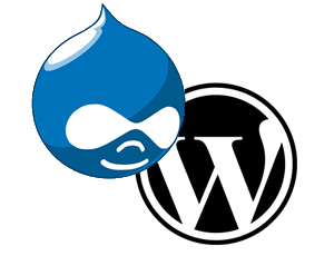 WordPress plus Drupal