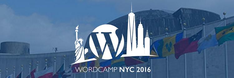 Speaking at WordCamp NYC 2016