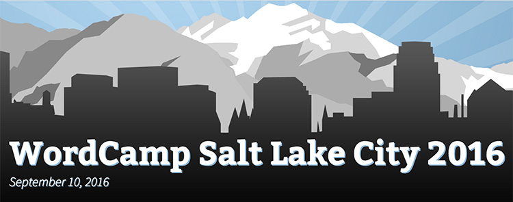 Speaking at WordCamp Salt Lake City 2016
