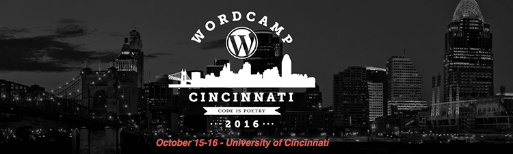 Speaking and Sponsoring at WordCamp Cincinnati 2016